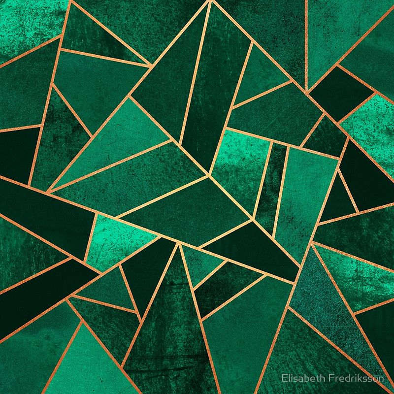 Emerald And Copper By Elisabeth Fredriksson Marble Iphone Wallpaper Copper Art Abstract