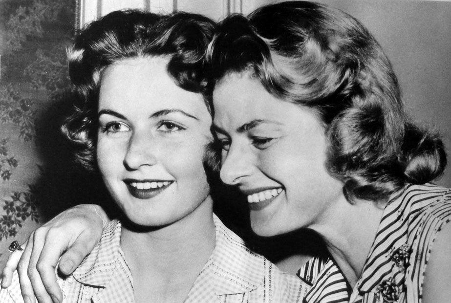 Ingrid Bergman reunites with daughter Pia in Paris after a ...