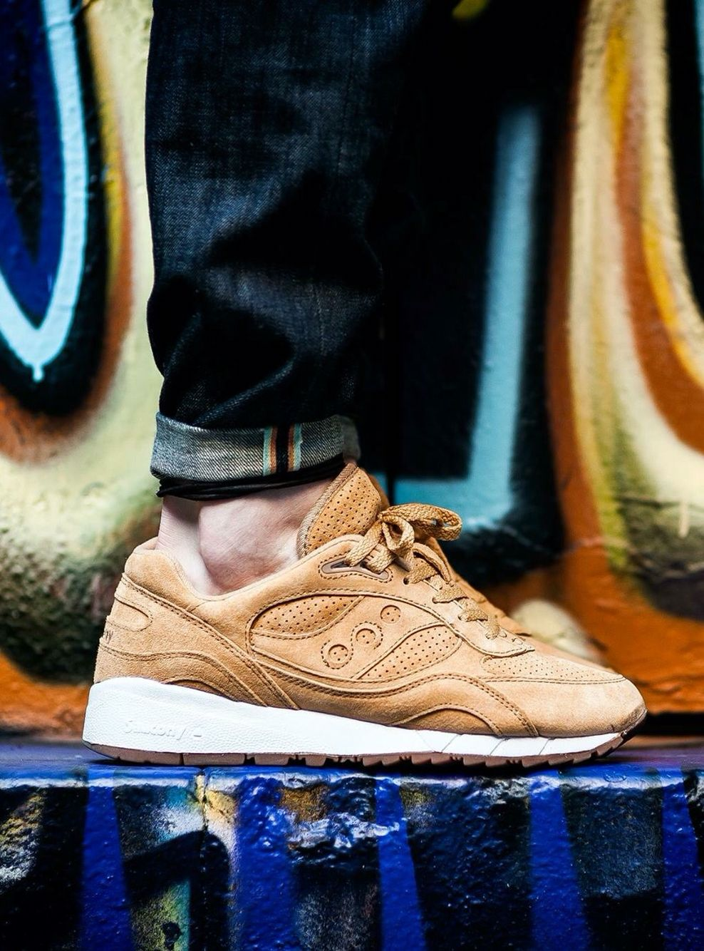 Saucony Grid 6000 'Irish Coffee'