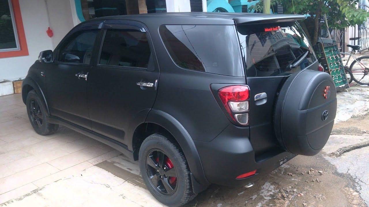 Modifikasi Mobil Rush Warna Hitam Modifikasi Mobil 4x4 Mobil