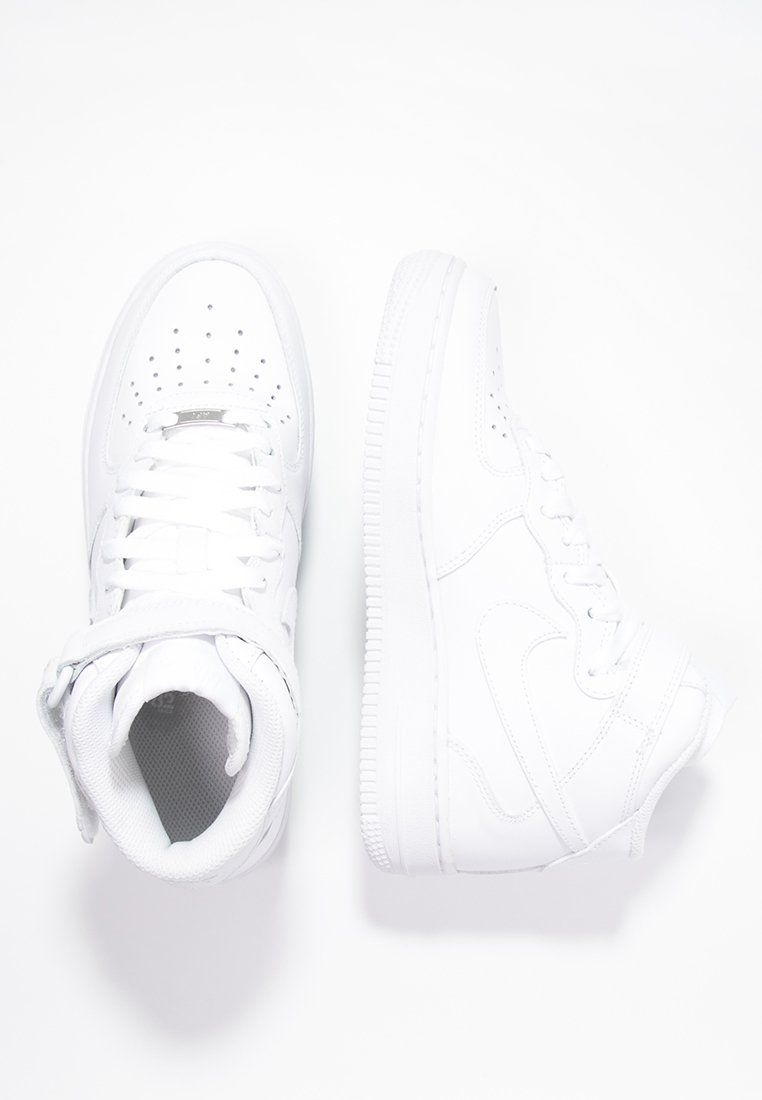 4c73b050d62 Nike Sportswear AIR FORCE 1 '07 MID - Sneaker high - white - Zalando ...
