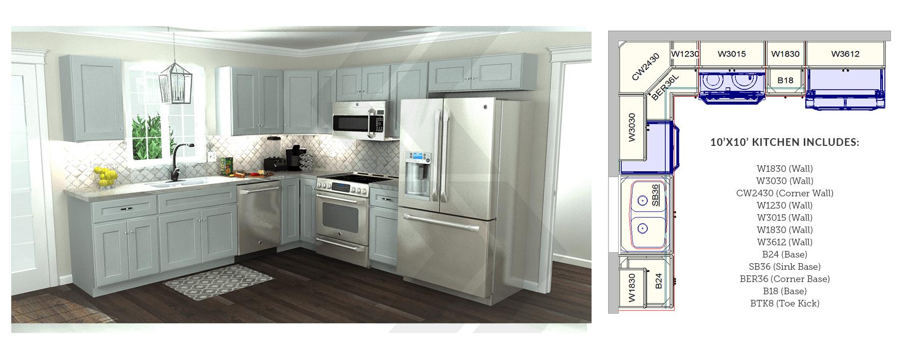 This Is A Typical 10 X 10 Kitchen With Diagram 10x10 Kitchen Kitchen Layout Kitchen Floor Plans