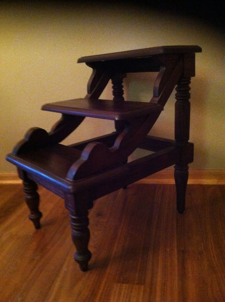 Antique Bed Stool