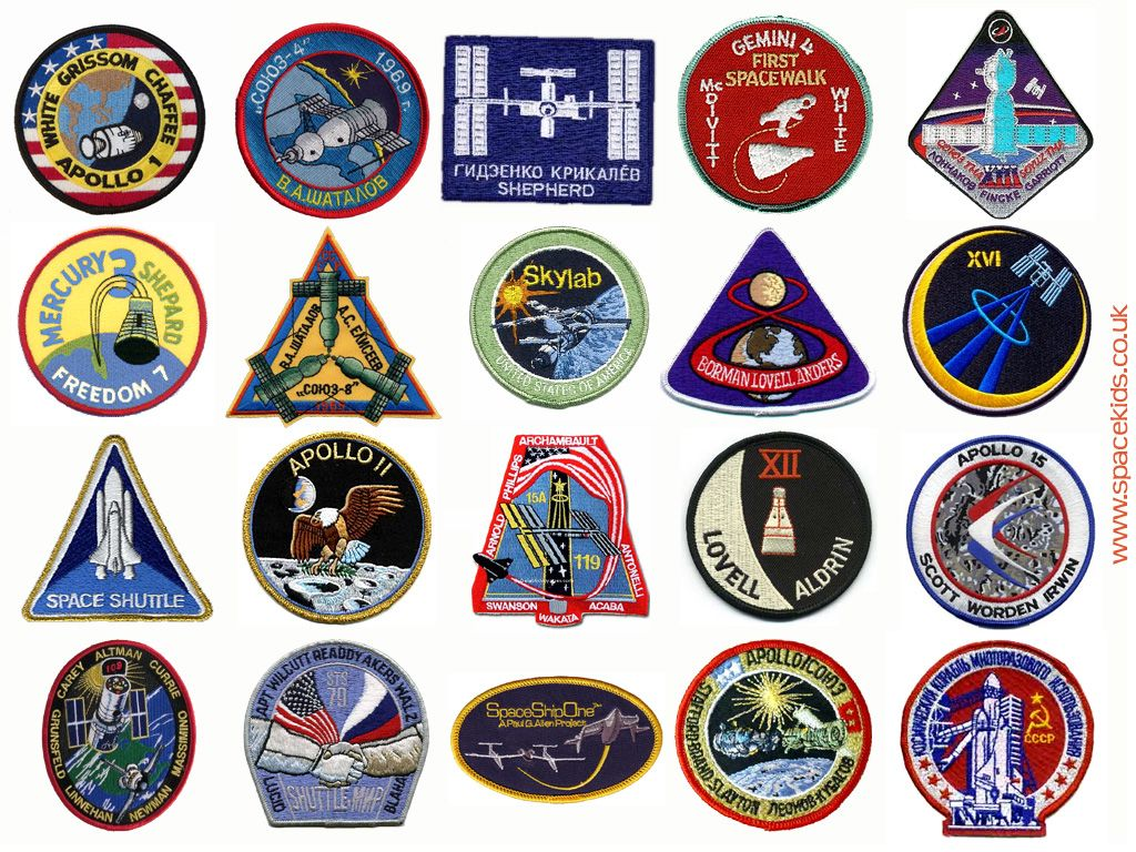blue nasa astronaut wings patches - photo #42