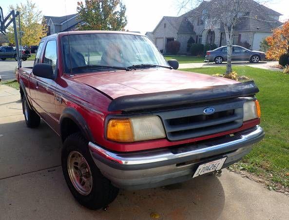 1993 Ford Ranger Xlt 4 4 Stick Shift Needs Engine Low Rust 500