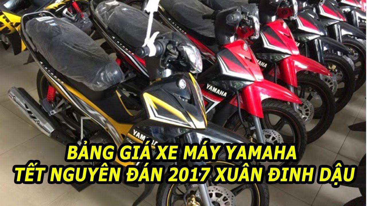 Giá xe Yamaha cập nhật Tết nguyên đán 2017 Xuân Đinh dậu