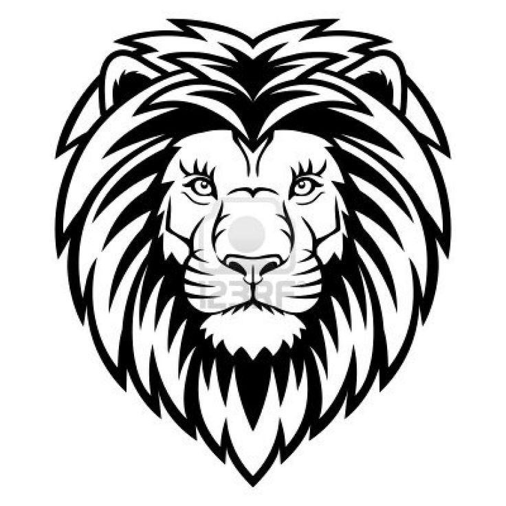 How to draw a lion head google search projects to try for Lion face coloring page