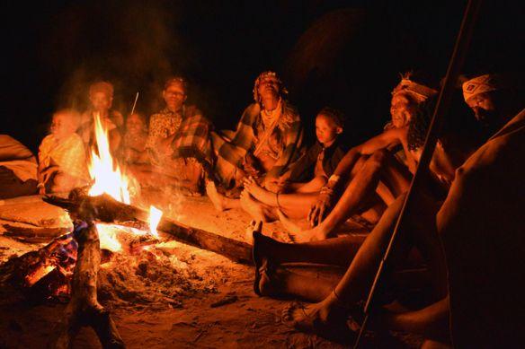 San Bushmen at N/a'an ku sê Lodge outside Windhoek, Namibia.
