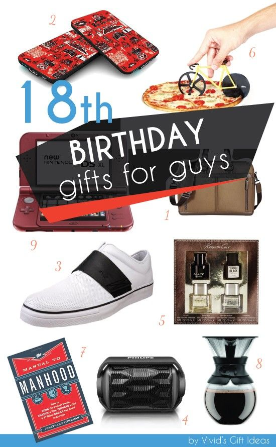 18th Birthday Gifts For Boys Teen Guy College