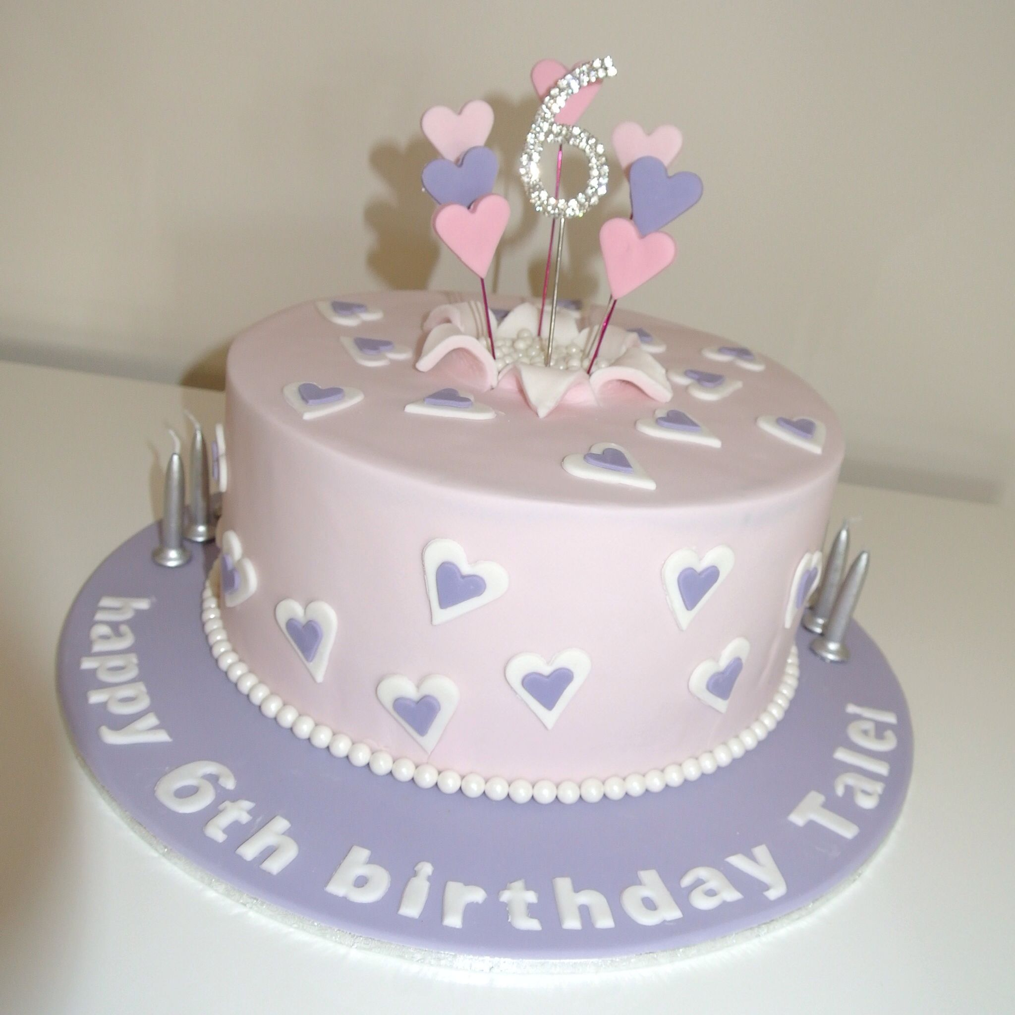 Pretty girls birthday cake Kids Birthday Pinterest Girl