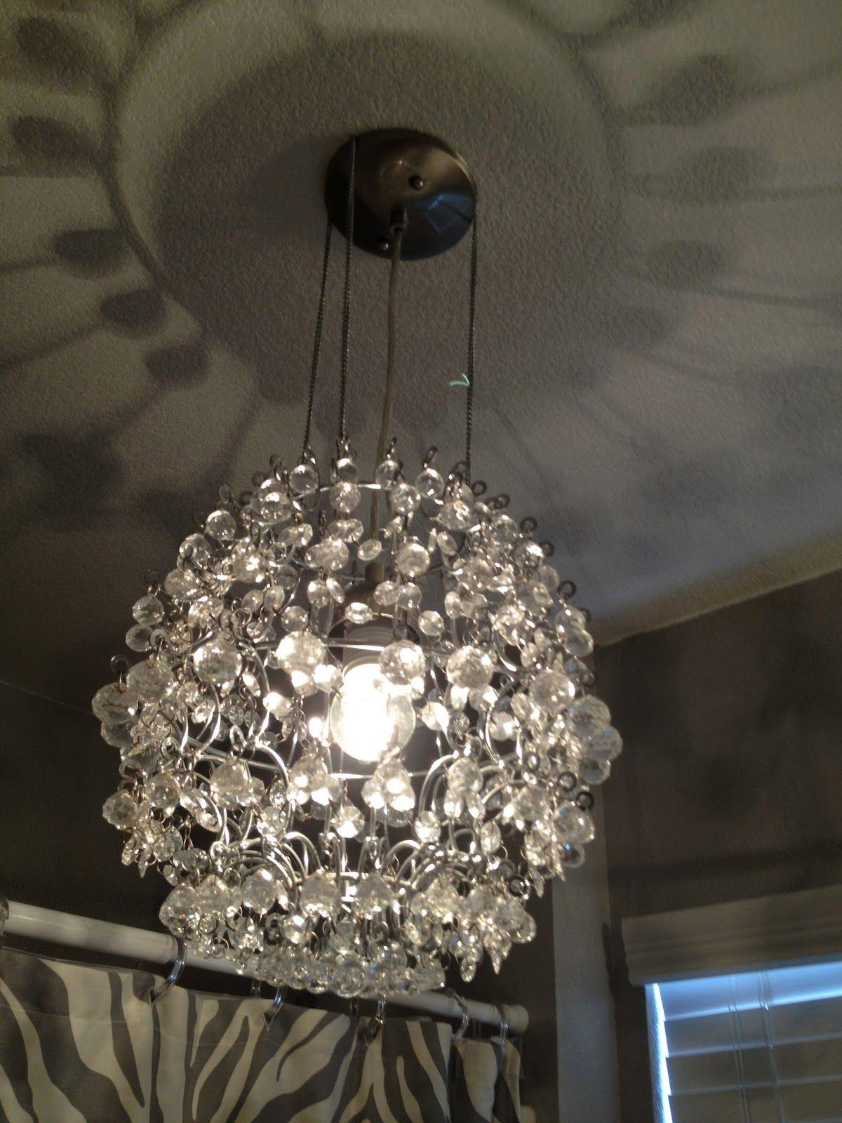 Crystal Chandelier For Under 45 Diy Chandelier Crystal Light