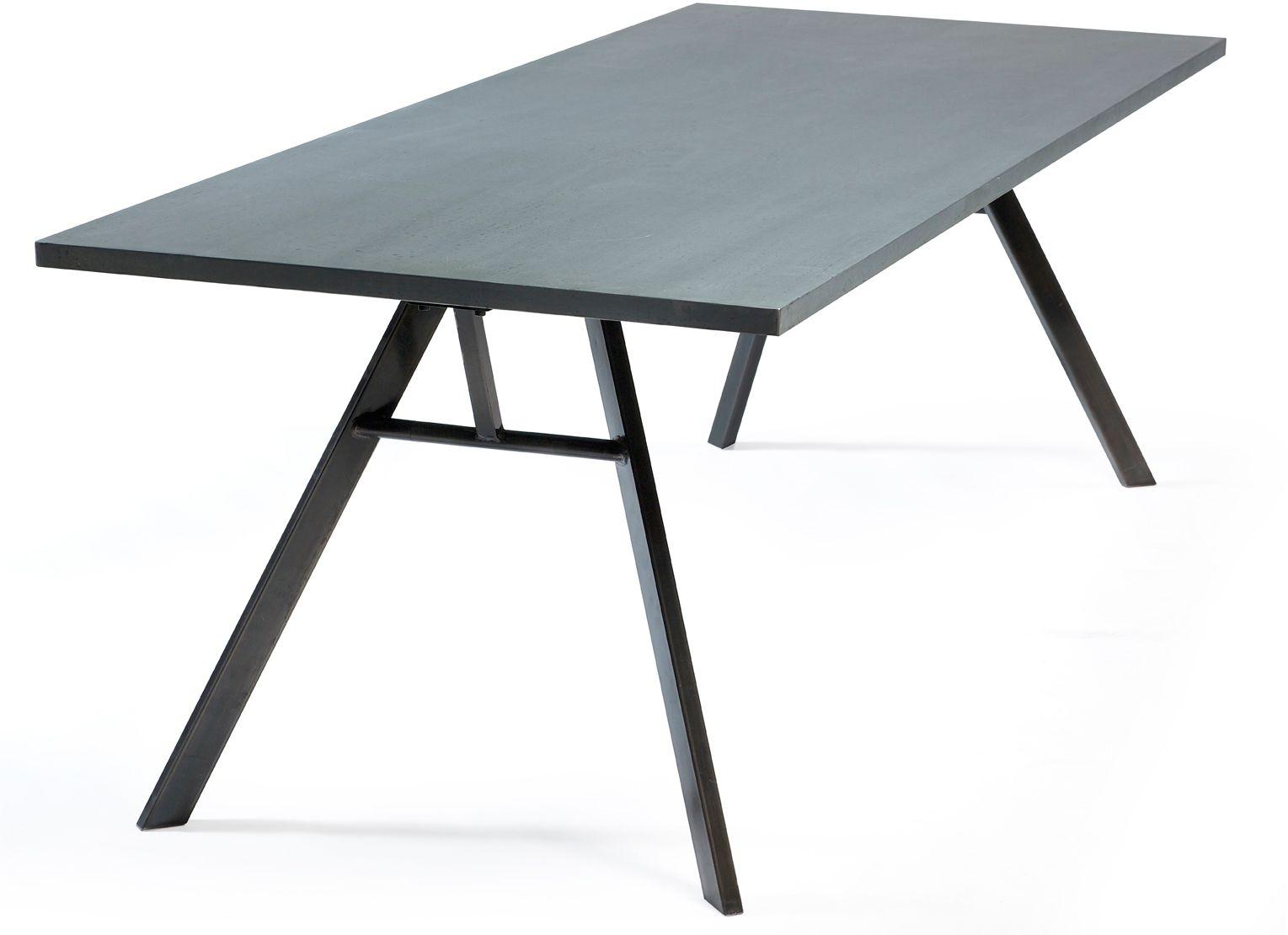 nando tafel zink / zwart - dan-form | eettafels | pinterest, Esszimmer dekoo