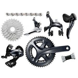 Entry Level 9 Speed Groupset With Many Technical Features Of