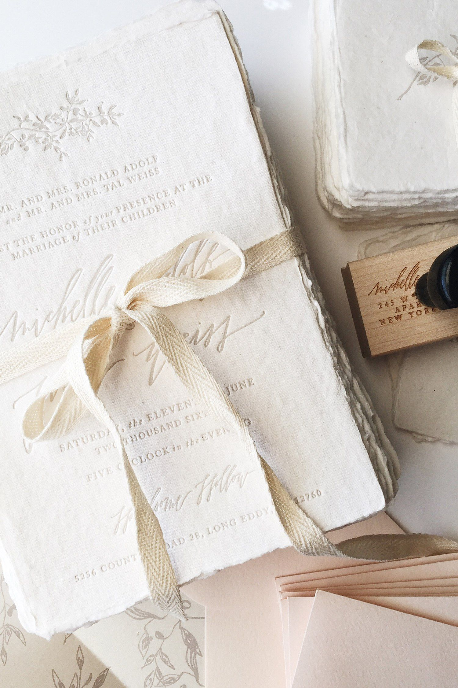 Paris Is For Lovers – Romantic Calligraphy Invitation Suite