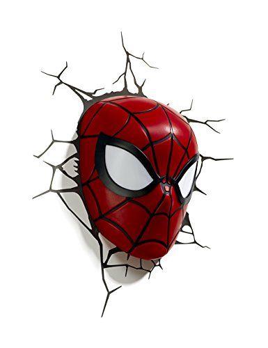 3d Light Fx Marvel Spider Man 3d Deco Led Wall Light 3d L Https Www Amazon Com Dp B00jxg1dai Ref Cm Sw R Pi Awdb X S0n Spiderman 3d Light Marvel Spiderman