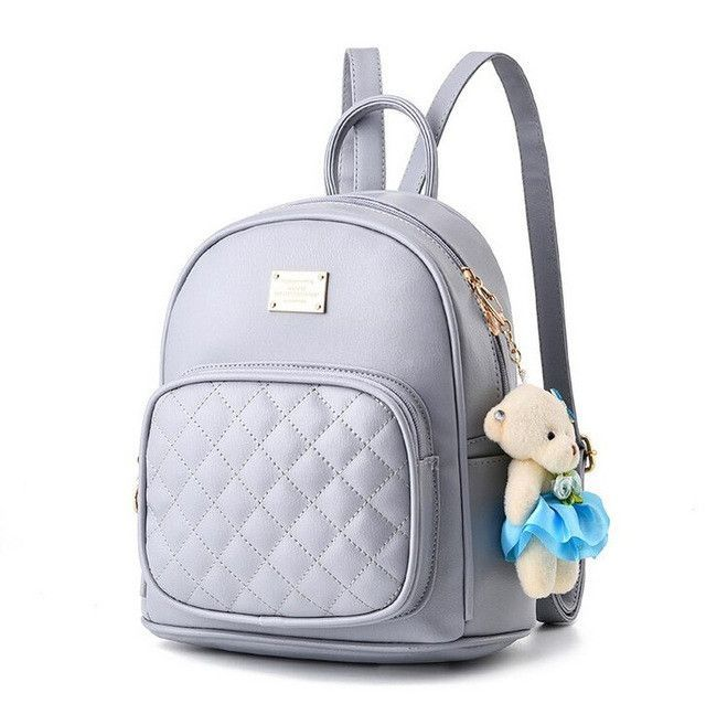 b476ef39da4ed Vogue Star 2017 Fashion Women Backpack For Girls Backpacks Black Backpacks  Female Fashion Girls Bags Ladies Black Backpack LA264
