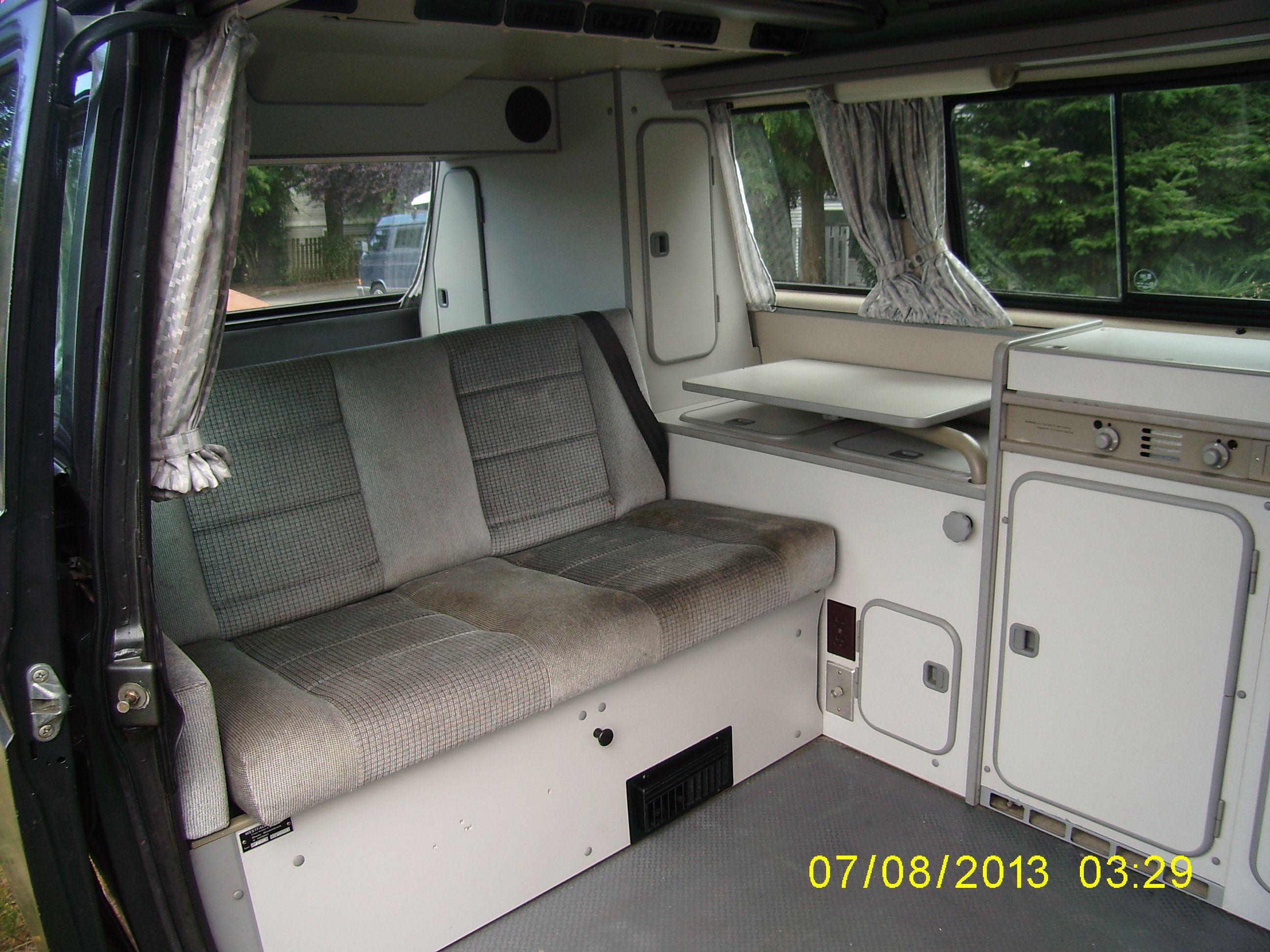 Volkswagen bus vanagon take a look volkswagon new interior run and - Vw Syncro 1989 Vanagon Westfalia Interior