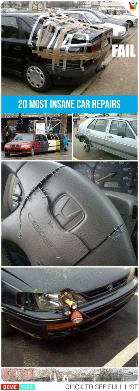 20 Most Insane and Fanatical Car Repairs   Auto repair ...