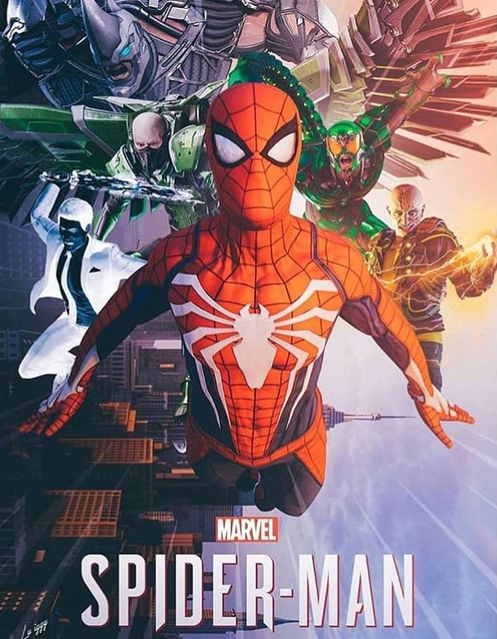 SpiderMan PS4 (With images) Marvel spiderman, Spiderman