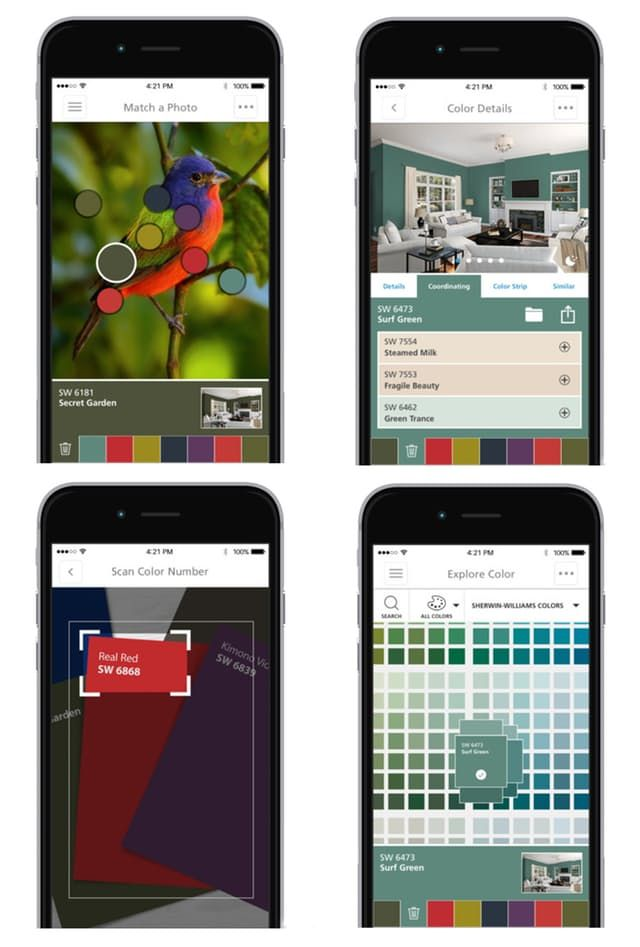 Try Before You Buy Say Goodbye To Color Uncertainty With These 6 Paint Color Apps Color Therapy Paint Colors Coloring Apps