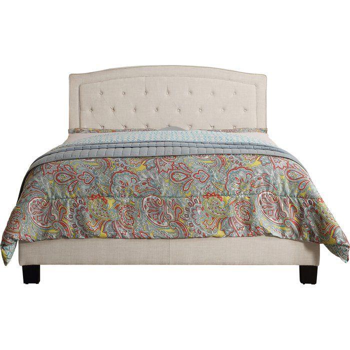 Mancilla Upholstered Panel Bed