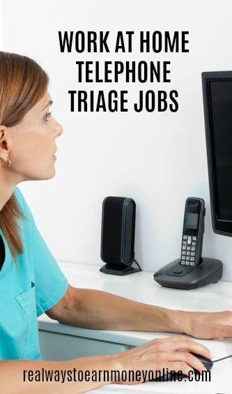 7 Companies With Work at Home Telephone Triage Jobs For Nurses - telephone triage nurse sample resume