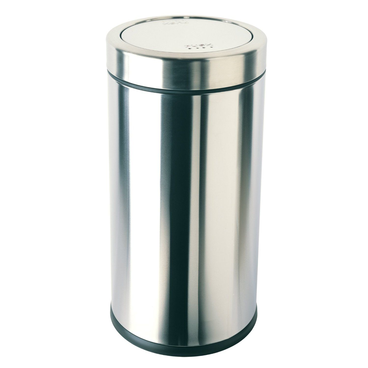 Http Www Amazon Com Gp Product B0002x6h02 Ie Utf8 1789 B0002x6h02 Xm2 Youtubeamazon03 20 Simplehuman Trash Can Brushed Stainless Steel Stainless steel swing top trash can