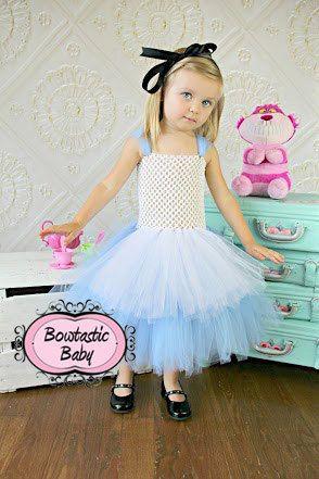 Wonderland Princess Halloween Tutu dress All by BowtasticBaby2 - halloween tutu ideas