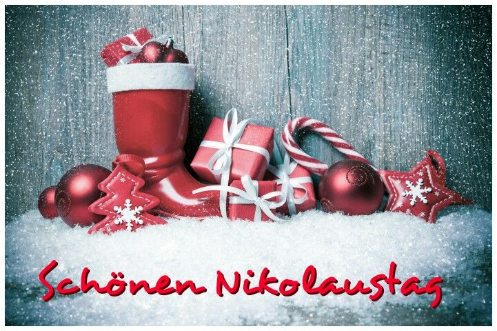 Schönen Nikolaustag #nikolaustagbilder