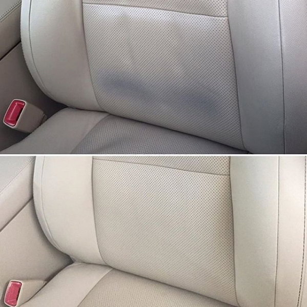 How To Remove Denim Dye Transfer and Stains From Leather ...