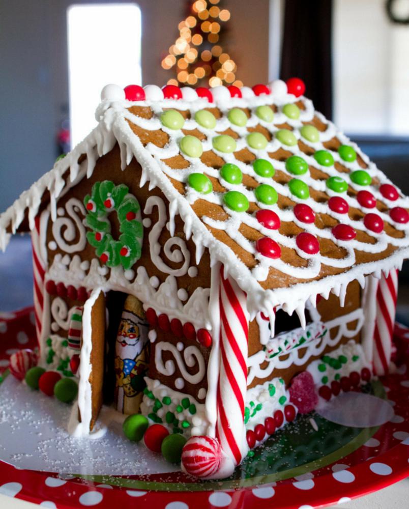 пряничный домик с картинками изысканная фактура