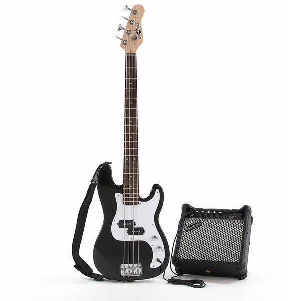 gear4music 3 4 size junior bass guitar and amp black great value and superb quality pack that is. Black Bedroom Furniture Sets. Home Design Ideas