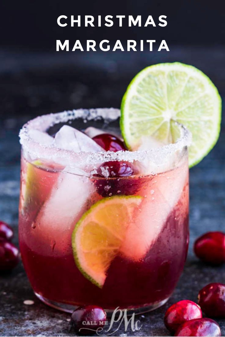 How to make the best Christmas Margarita!