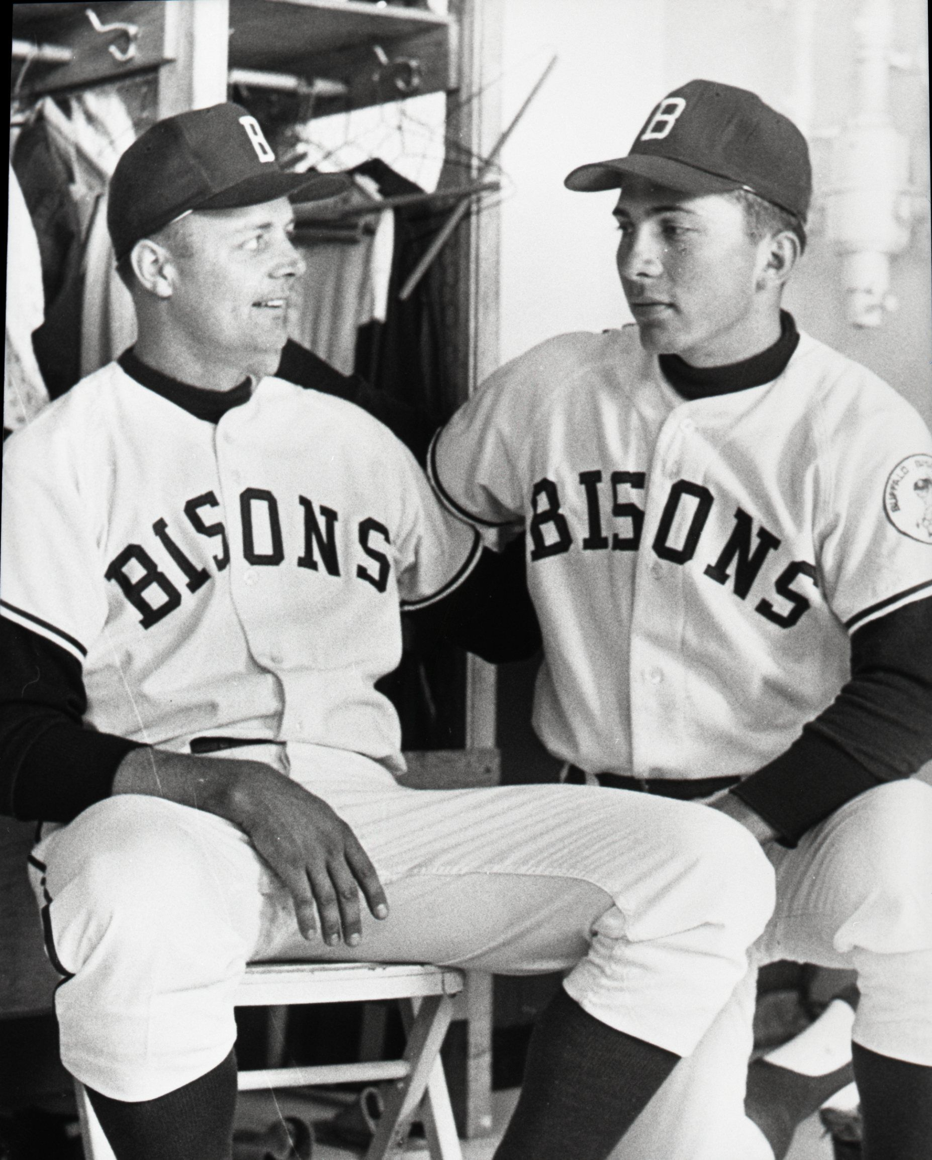 Johnny Bench Photos Part - 31: Buffalo Bisons 18 Year Old Phenom Johnny Bench.