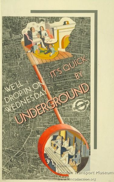 Its quick by Underground ~ Laurence Bradshaw
