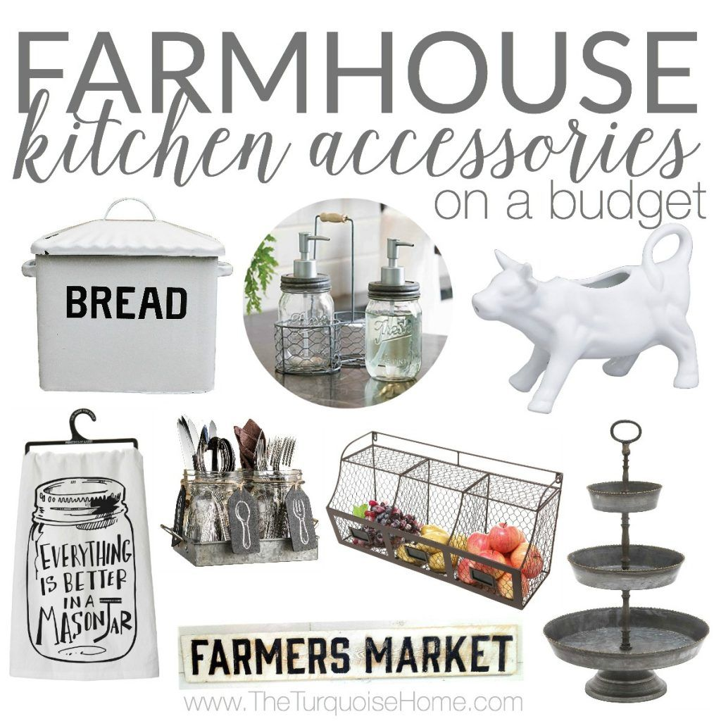 Delicieux Farmhouse Kitchen Accessories On A Budget