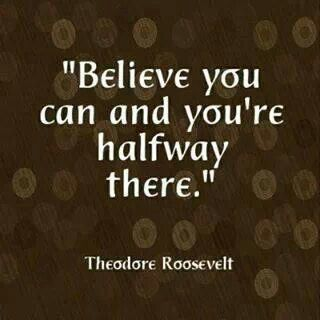 If you don't believe then who will??