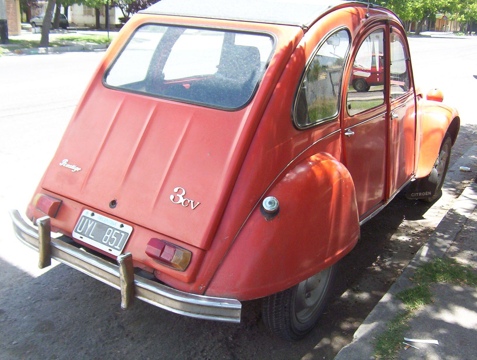 Citroen 3cv Prestige Autos Argentinos Autos Citroen 3cv