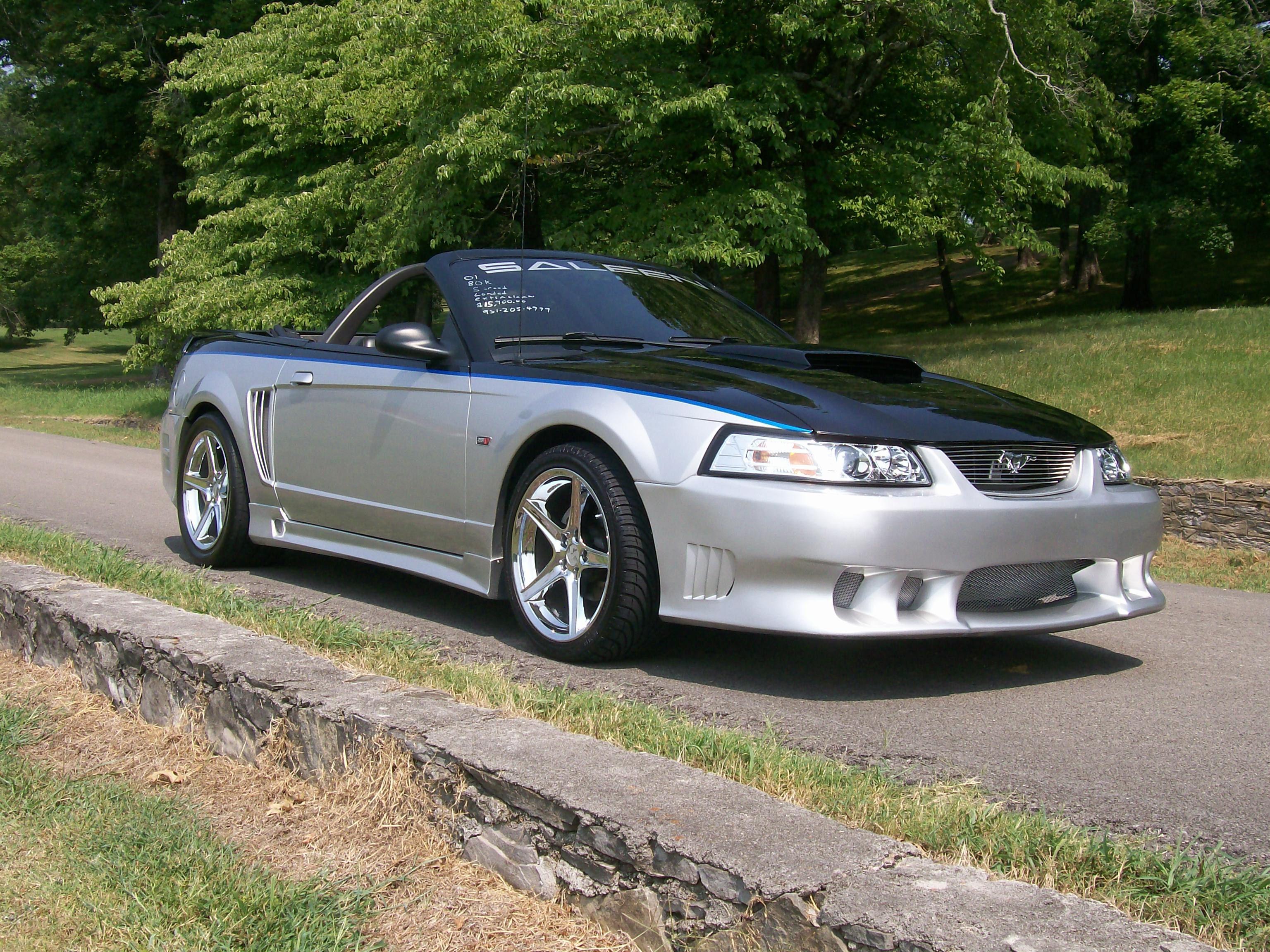 99 04 Saleen Mustang Auto Wheels Tires Tint Accessories 99 04 Mustang Saleen Body Kit Saleen Mustang Mustang Car Wheels