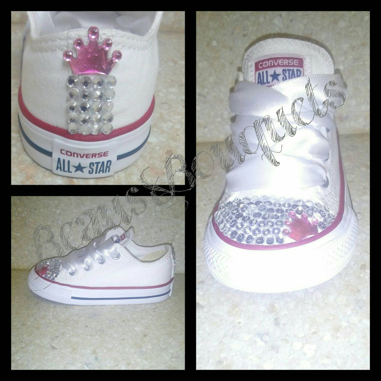 Converse de princesa   Zapatos para niñas, Zapatos para bebe