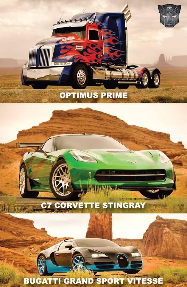 Transformers 4 The Bugatti Is The Autobot Drift The Corvette