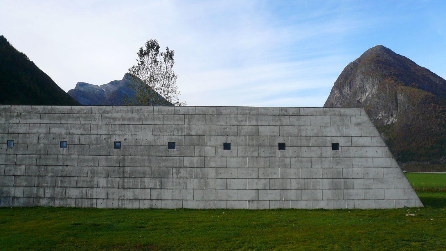 Norwegian Glacier Museum, Fjærland, 1992-95