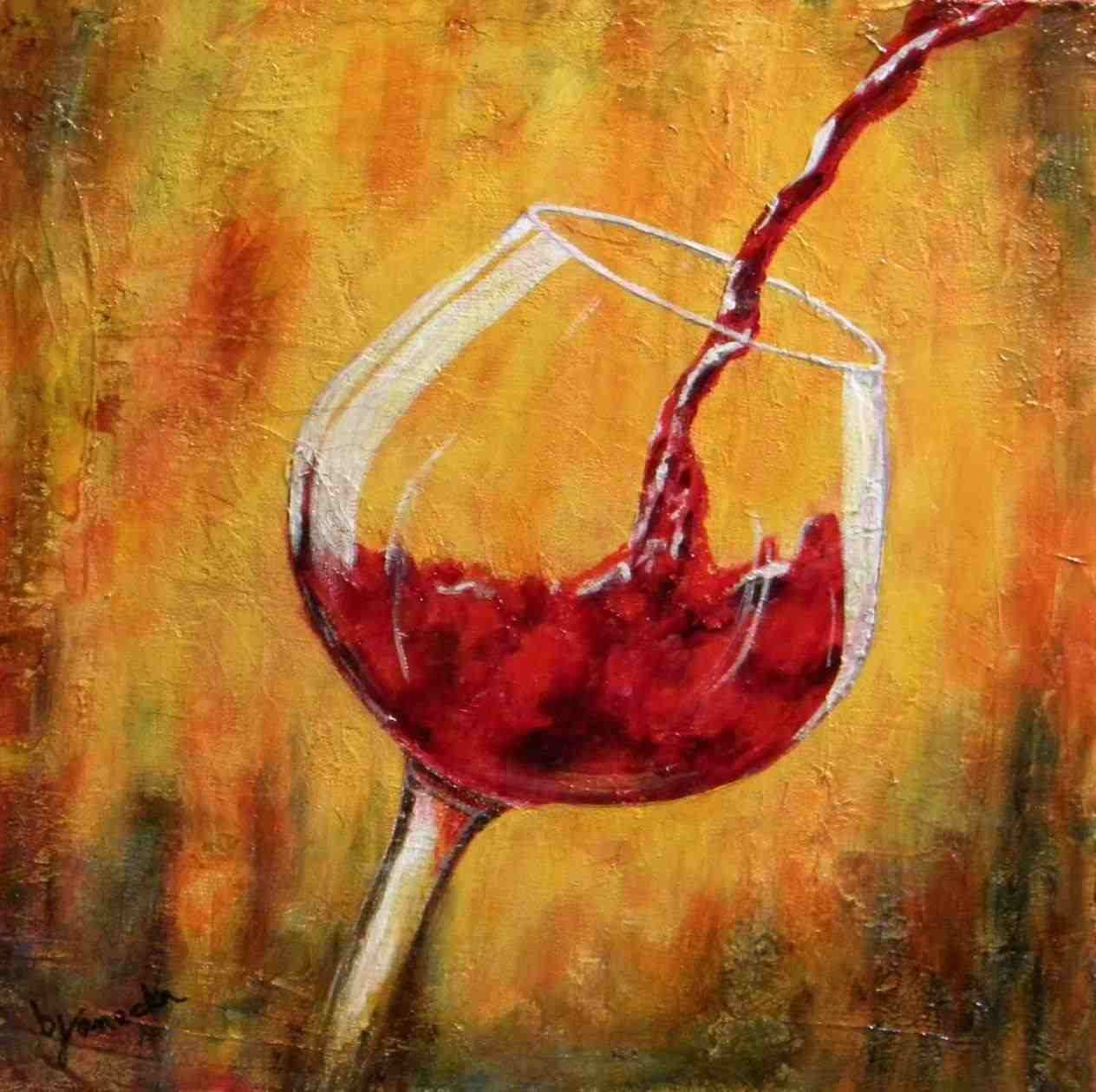 Red Wine Painting Studio Vino Art Class Wine Painting Mclaren Vale Adelaide Roy Hodrien Still Life With Red Wine Wine Wall Art Wine Glass Art Wine Painting