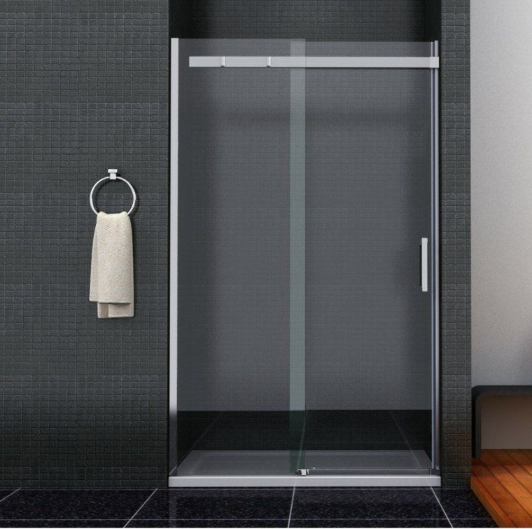 Sliding Bathe Door Swinging And Glued In 95 Ideas Bathe Glued Ideas Sliding Swinging Bathroom Shower Doors Shower Sliding Glass Door Shower Enclosure