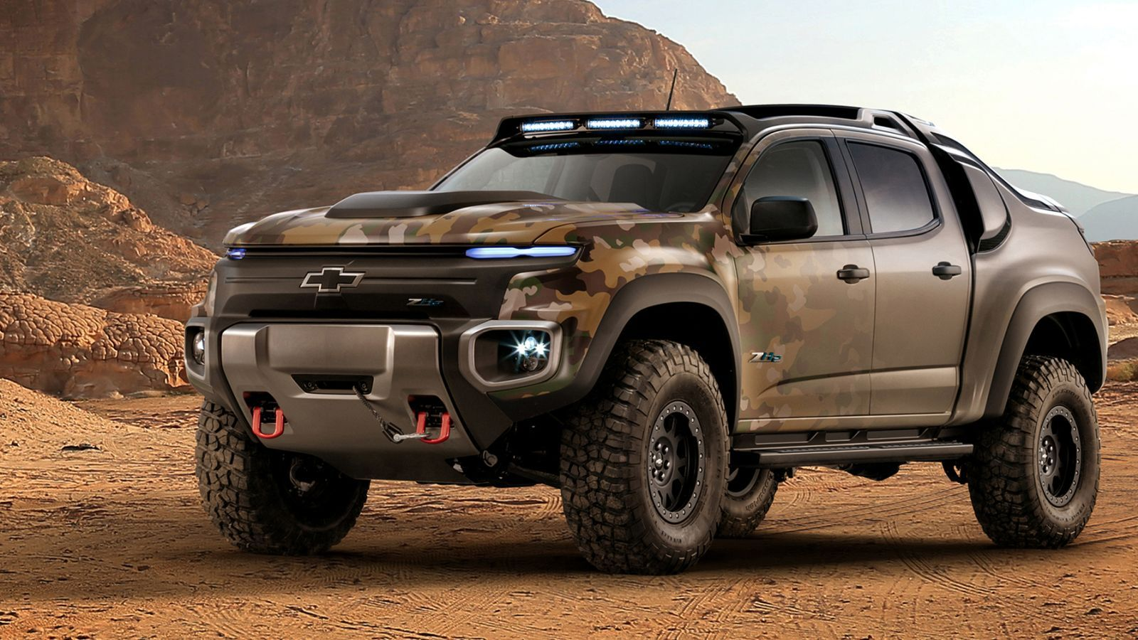 The U S Army S Chevy Colorado Zh2 Looks Ready For World War Iv