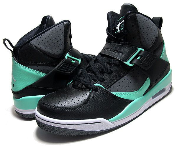 NEW NIKE AIR Jordan FLIGHT 45 HIGH GREEN GLOW SHOES size 10.5  125 384519  015  NIKE  BasketballShoes 4f812367b