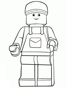 Lego Cover Letter Lego Coloring Pages Lego Coloring Lego Portrait