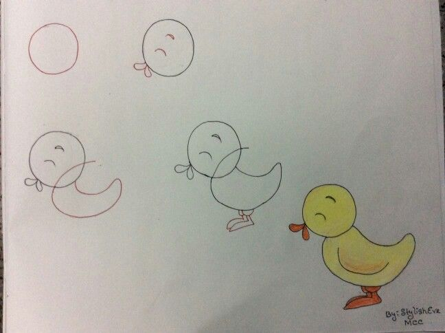 Civciv Cizimler Cizim Egitimleri Drawing Lessons