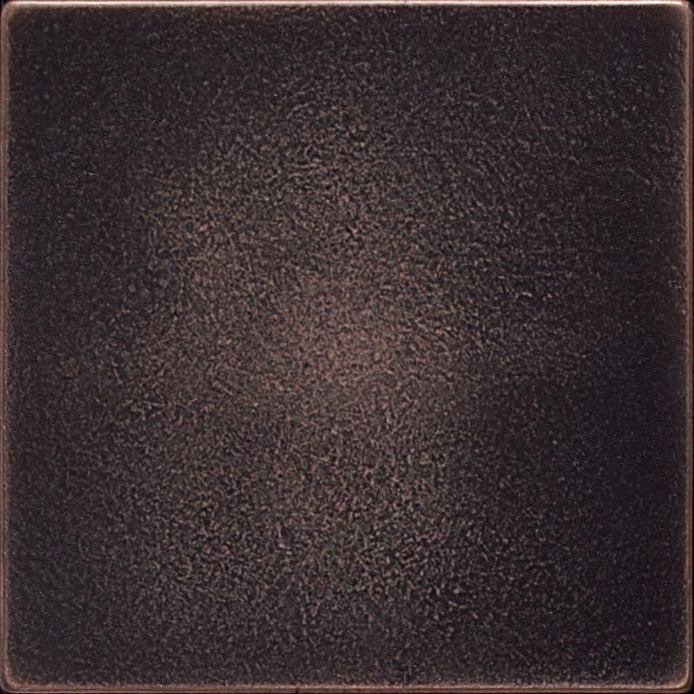Ion Metals Oil Rubbed Bronze 4 1 4 In X 4 1 4 In Composite Of