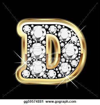 Rappers Gold Diamond Bracelet | Drawing - D gold with ...